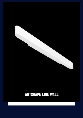 Lampa Artshape Line Wall