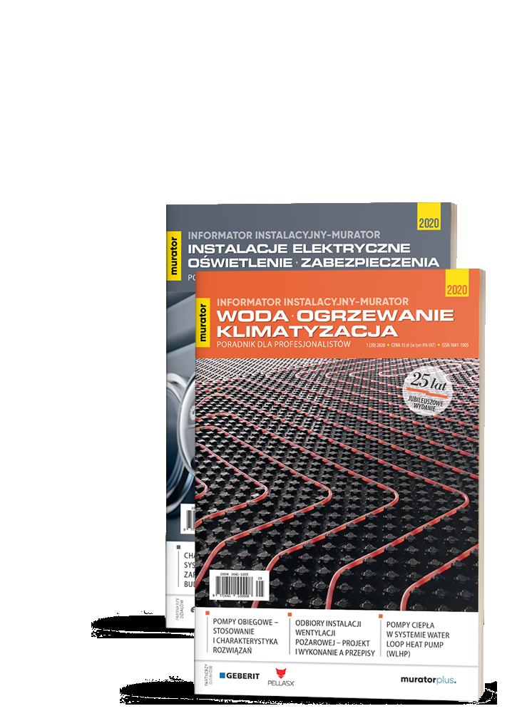 2 Tomy Informator Instalacyjny-murator 2020