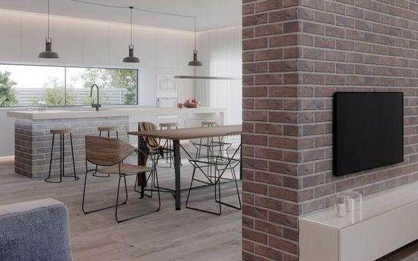 Cegła w kuchni: 10 pomysłów na ceglaną ścianę