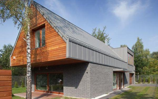 Modny szary dach: z czego zrobić, jaka pasuje elewacja?
