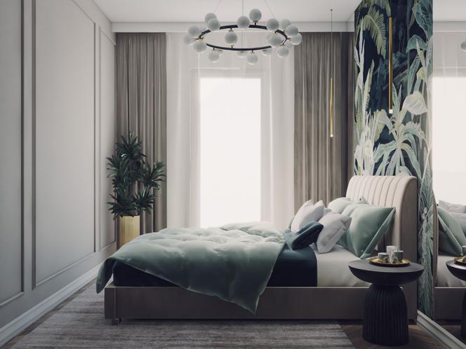Klasyczna elegancja – sypialnia w wersji pierwszej